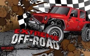 red-jeep-off-road-extreme